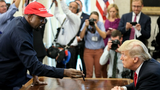 The Funniest Tweets About Kanye's White House Visit