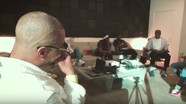"""Watch Kanye West and T.I. Discuss Trump in """"Ye vs. the People"""" Behind-the-Scenes Video"""
