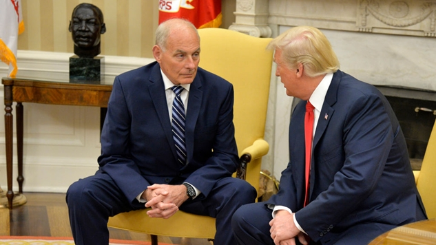 John Kelly, Perhaps Illegally, Approved the Military's Use of Lethal Force at the Border