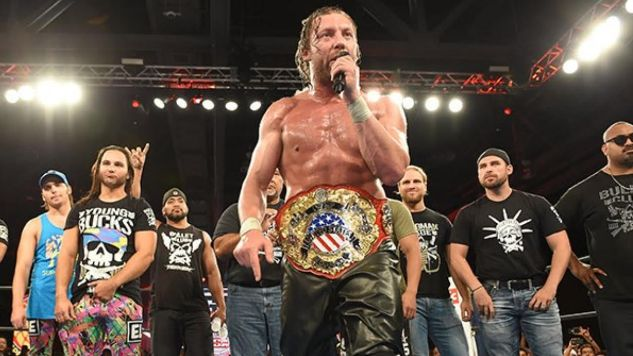 Kenny Omega Discusses New Japan's US Championship