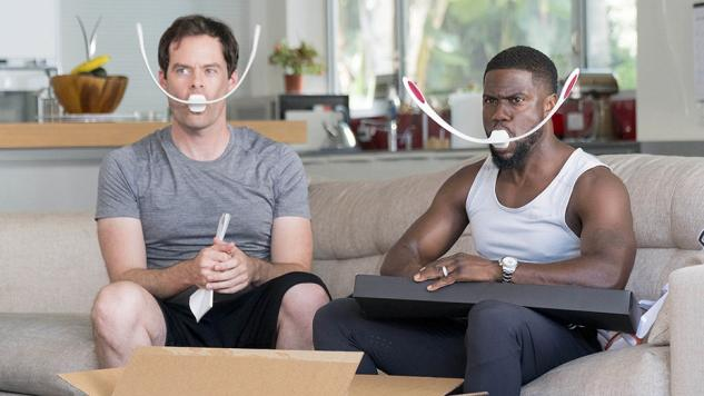 Watch Kevin Hart and Bill Hader Test Out Exercise Equipment on <i>What the Fit</i>