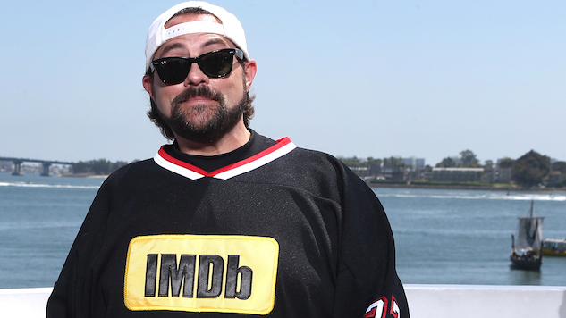 "Kevin Smith Survives ""Widow-Maker"" Heart Attack"
