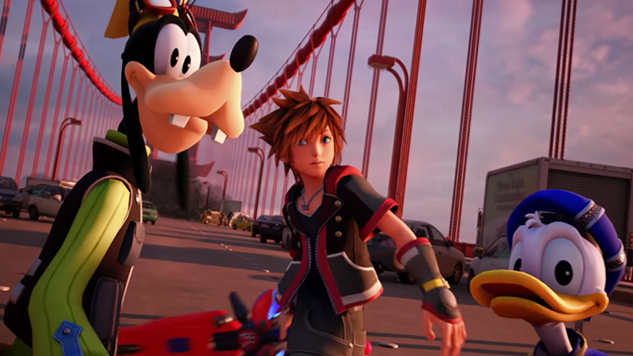 New <i>Kingdom Hearts 3</i> Trailer Highlights <i>Big Hero 6</i> World
