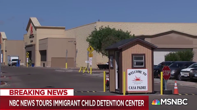 Please See This Heartbreaking Glimpse Inside One of America's Child Internment Camps