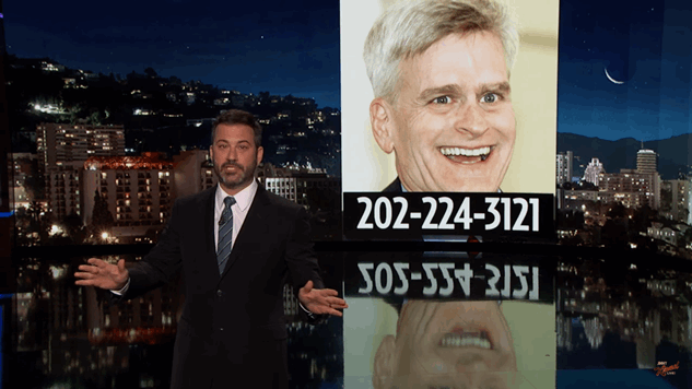 Please Listen to Jimmy Kimmel, and Call Congress So We Can Stop Their Evil Health Care Bill yet Again