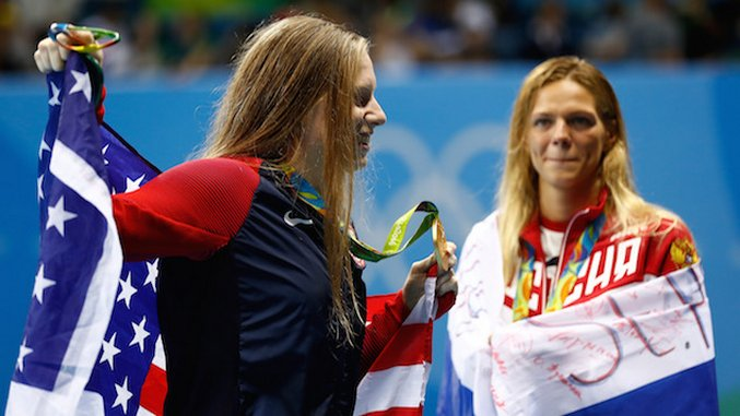 Sorry, America: Your Smugness About Yulia Efimova's Defeat is Garbage