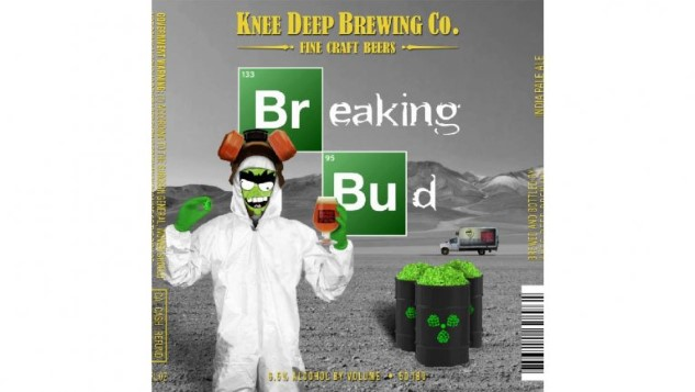 "Sony Is Suing Knee Deep Brewing Co. Over its ""Breaking Bud"" IPA Labels"