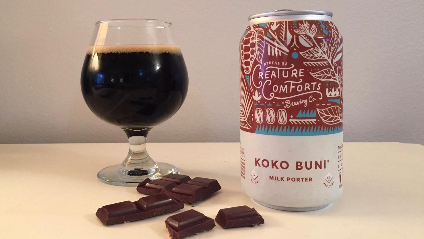 Creature Comforts Koko Buni Milk Porter Review
