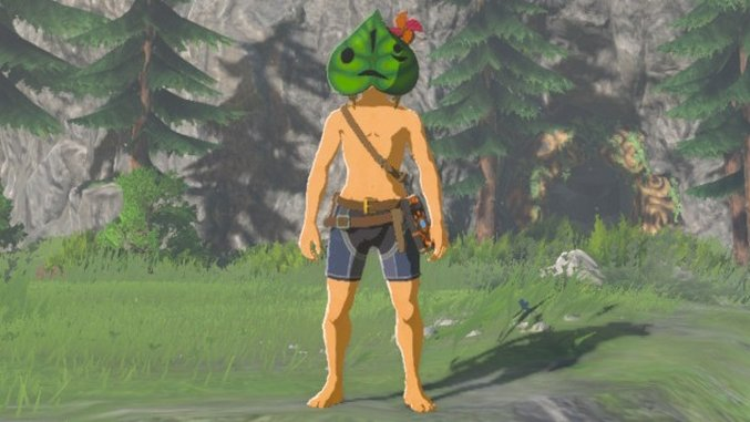 <i>Zelda: Breath of the Wild</i> Guide: How to Find the Korok Mask in the New DLC