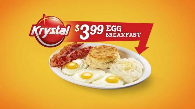 Eating Badly: The Golden Horror of Krystal's Three Egg Breakfast