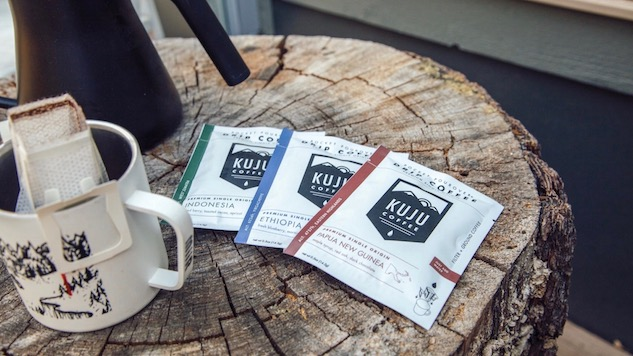 Kuju Coffee Keeps Backpacking Civilized