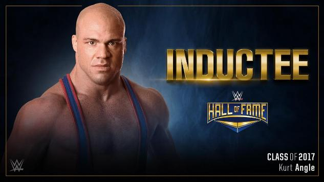 Kurt Angle to Be Inducted into WWE's Hall of Fame
