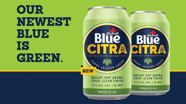 """Is a Hoppy, """"Juicy"""" Lager From Labatt Something You Want?"""