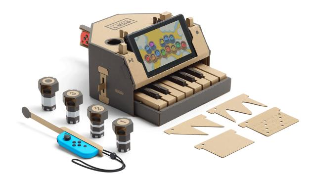 The Nintendo Labo Piano Is a Surprisingly Useful Little Synthesizer