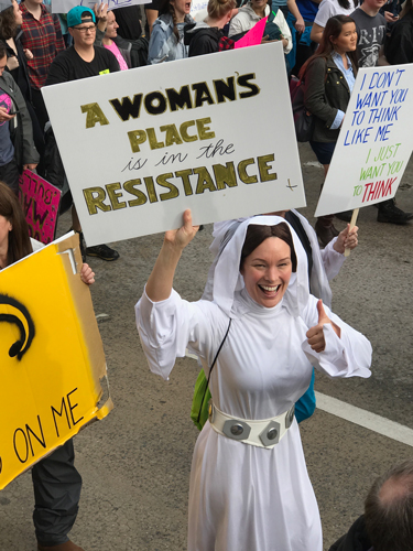 Image result for princess leia womens march posters