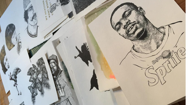 Meet the Real-Life Artist Behind the Drawings in Key & Peele's <i>Keanu</i>