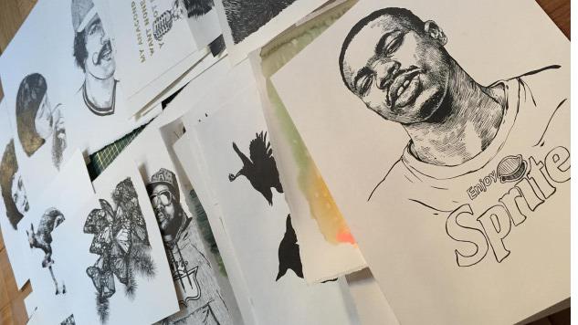 Meet the Real-Life Artist Behind the Drawings in Key & Peele's <i>Keanu</i>