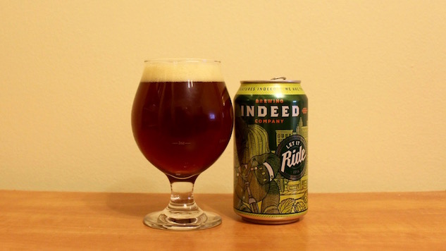 Indeed Brewing Let It Ride IPA Review
