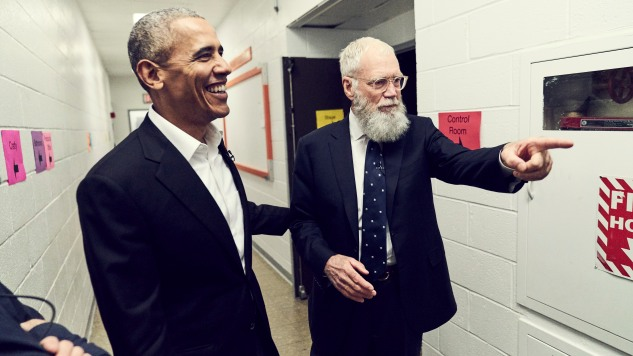 David Letterman's Netflix Talk Show Premieres on January 12 with Barack Obama