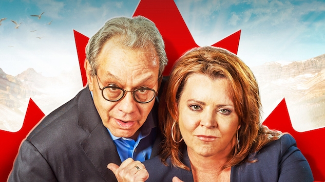 Lewis Black and Kathleen Madigan Flee the U.S. in Their Fun New Special