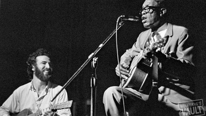Listen to Lightnin' Hopkins Play the Blues on This Date in 1967