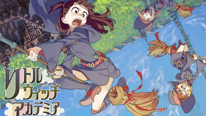 <i>Little Witch Academia</i> is Getting a Full Anime Series