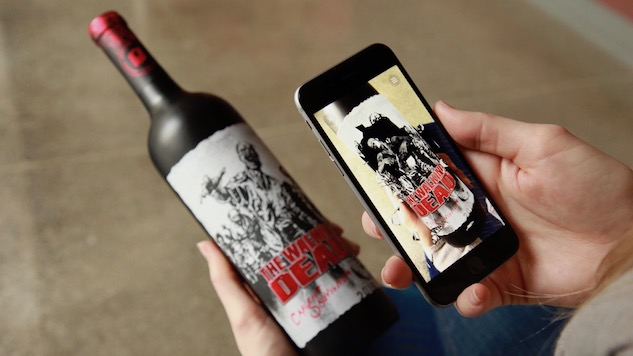 Zombie Wine Has Livelier Labels!