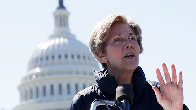Elizabeth Warren Warns Against Potential Kid Rock Senate Run