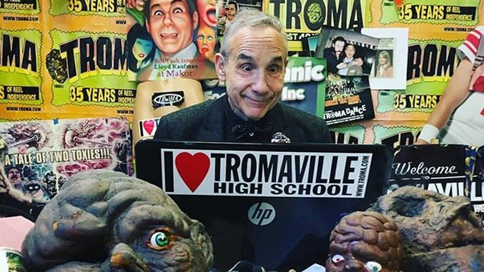 Deep in the Bowels of Tromaville with Lloyd Kaufman