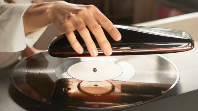 Love, the World's First Smart Turntable, Ditches the Traditional Platter and Spins Directly on Your Records