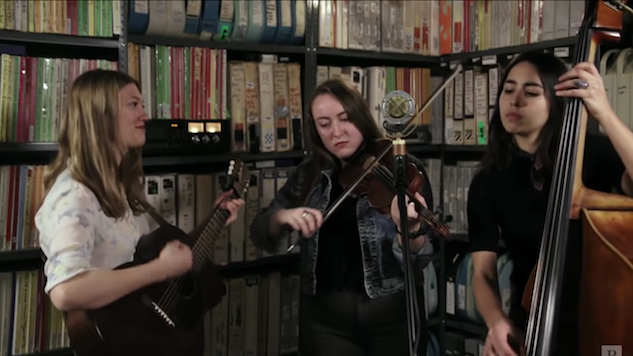 Watch Boston Folk Trio Lula Wiles Harmonize in the <i>Paste</i> Studio