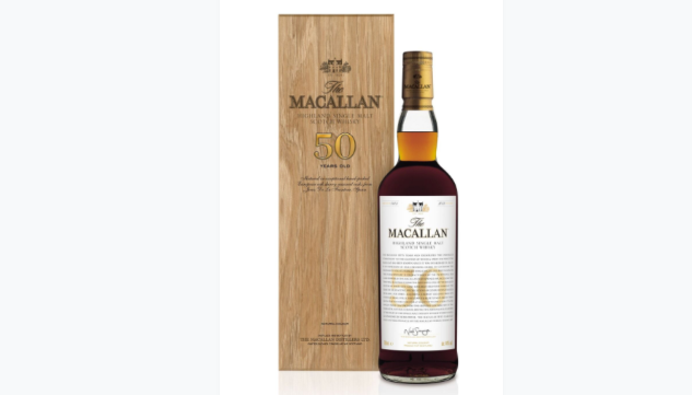 The Macallan's New 50-Year Scotch Will Cost You a Mere $35,000