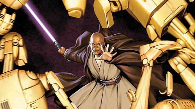Marvel Revisits <i>Star Wars</i> Prequels With Mace Windu Comic Series