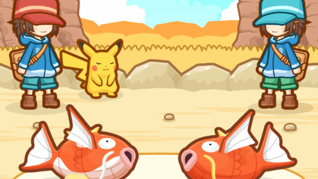 The Existential Despair of <i>Magikarp Jump</i>