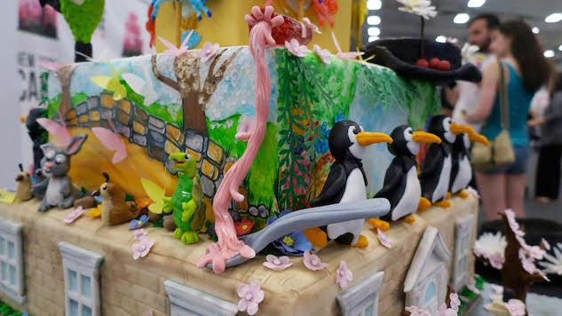 Go Inside the Incredible Edible New York Cake Show