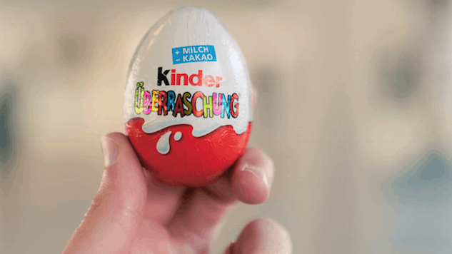 Why Are Kinder Eggs Illegal?