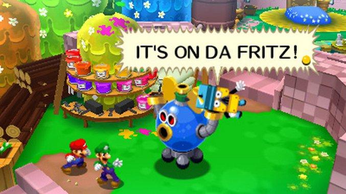Mario Luigi Dream Team Review 3ds Paste