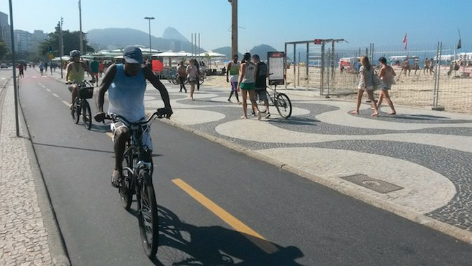 Olympic Tour: How to Get Around Rio de Janeiro By Bike
