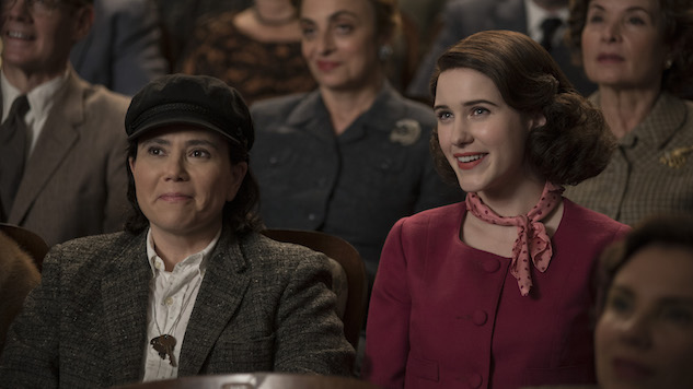 <i>The Marvelous Mrs. Maisel</i> Is Amy Sherman-Palladino's <i>The Newsroom</i>