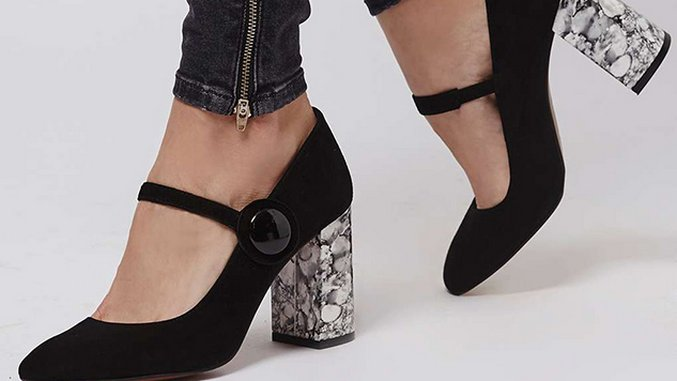 Act Like an It Girl in These Chic Mary Janes