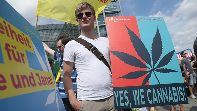 Nearly Two-Thirds of Americans (and Half of Republicans) Now Support Legalizing Marijuana