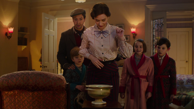 Emily Blunt Brings Back the Magic in <i>Mary Poppins Returns</i> Trailer
