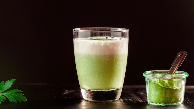 4 (Kind of) Healthy Matcha Cocktails