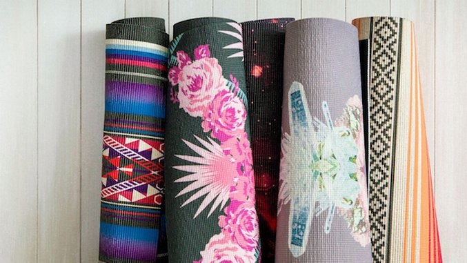 Stylish Yoga Mats to Get Your Zen on in the New Year