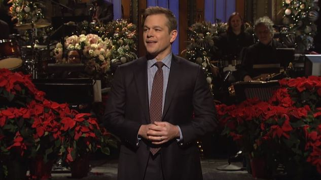 Matt Damon Helps <i>Saturday Night Live</i> End 2018 With Its Best Episode in Months