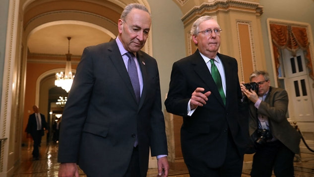 Mitch McConnell Is Blocking House-Passed Bills that Would Reopen the Government