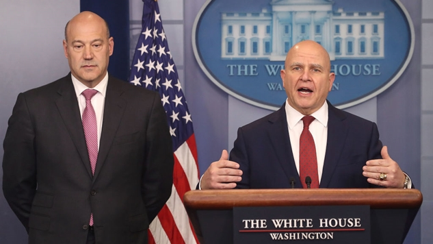 "McMaster: It Was ""Wholly Appropriate"" for Gary Cohn to Secretly Remove a Trade-Related Document from Trump's Desk"