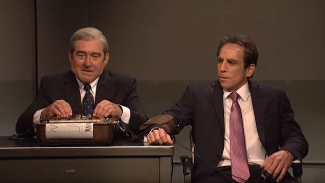 De Niro Plays Robert Mueller in <i>SNL</i>'s Trump Homage to <i>Meet the Parents</i>