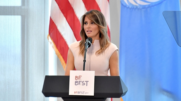 Melania Trump Says #MeToo Accusers 'Need to Show the Evidence'