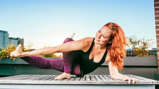 Fit Chicks: <i>Melissa Scott Yoga</i>